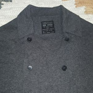 All-Saints Button Down Cardigan Grey L